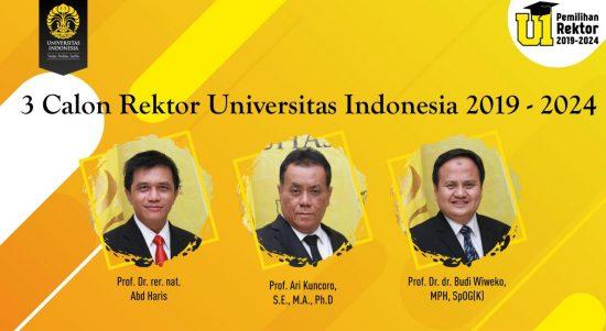 calon rektor UI