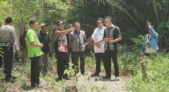 walikota pantau proyek air
