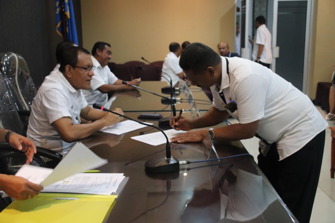 sertijab pejabat kota