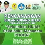 launching kupang hijau