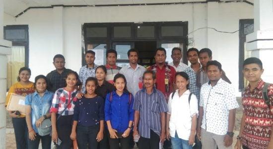 peserta tes PPK sumba timur