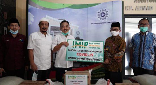 bantuan PT IMIP