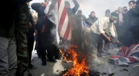 bakar bendera