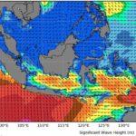 gelombang tinggi diprediksi akan terjadi di pesisir pulau jawa 169