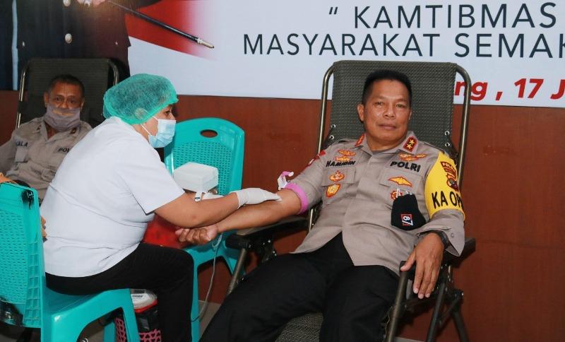 kapolda donor darah
