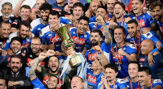 napoli juara piala italia 0