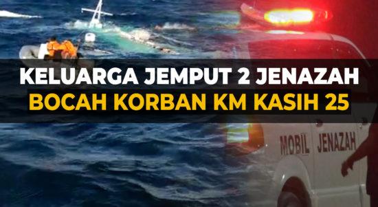 Keluarga Jemput Dua Jenazah Bocah Korban KM Kasih 25 di RS Bhayangkara Kupang