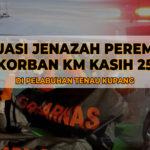 Evakuasi Jenazah Perempuan Korban KM Kasih 25
