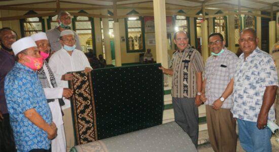 Jeriko di masjid perumnas