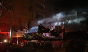 kebakaran pasar oeba