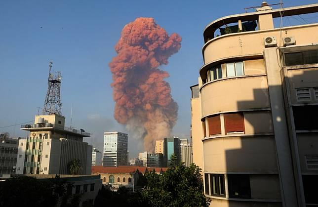 ledakan di beirut