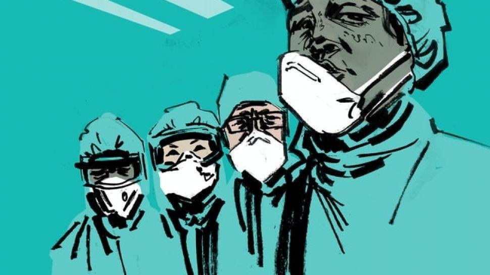 ilustrasi tenaga medis