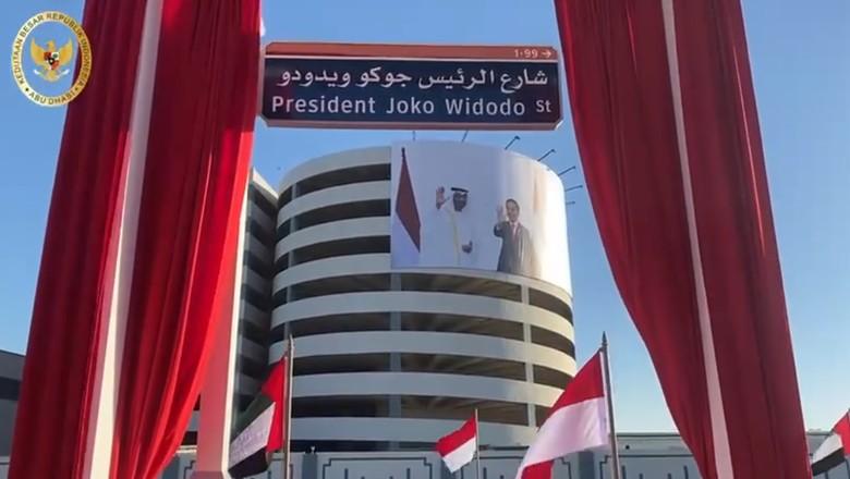 nama jalan presiden joko widodo di abu dhabi 169
