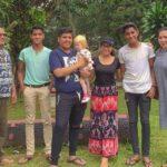 potret claudia felixia bate dan keluarga 43