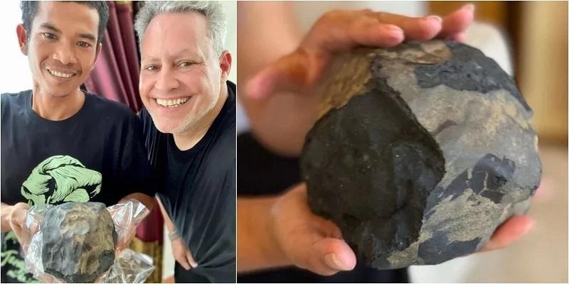 josua hutagalung mendadak jadi jutawan batu luar angkasa temuannya dibeli rp25 miliar Qry5Or3l6m