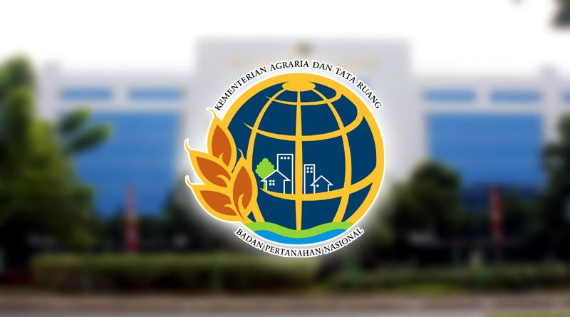 logo kementrian ATR