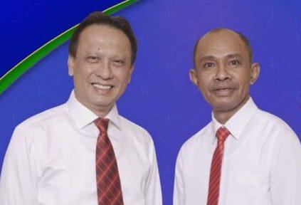 dr. Taolin Agustinus Sp.PD dan Drs. Aloysius Haleserens 1