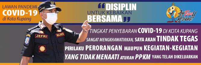 Iklan Covid Walikota Kupang