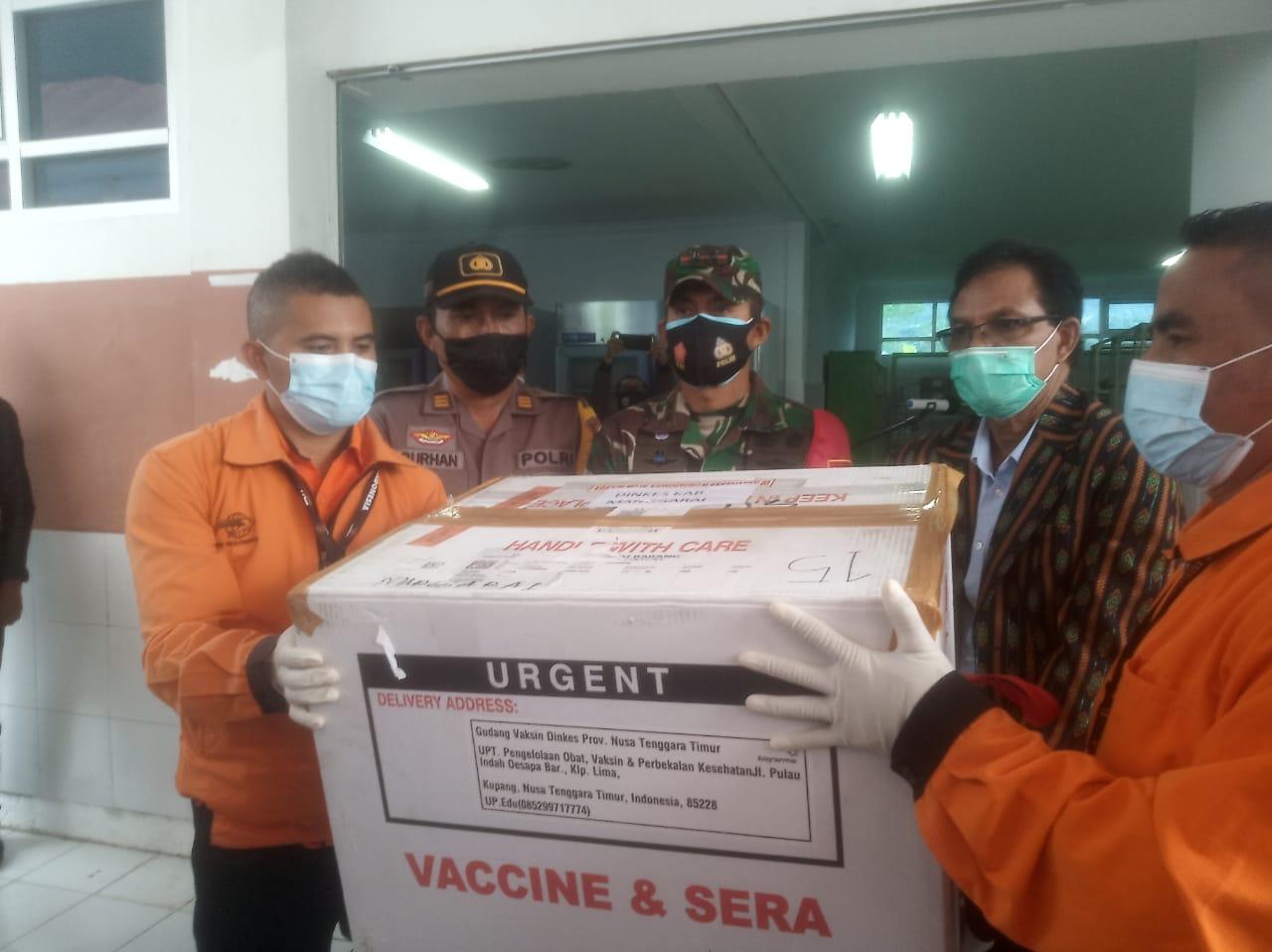 vaksin covid di manggarai