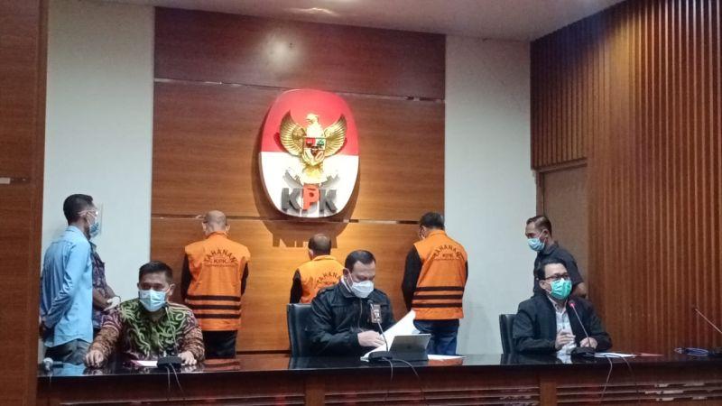 kpk resmi tetapkan gubernur sulsel nurdin abdullah sebagai tersangka Wa313Aer5J
