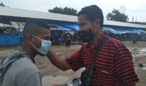 wartawan bagi masker