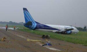 pesawat trigana air tergelincir di bandara halim perdanakusuma 169