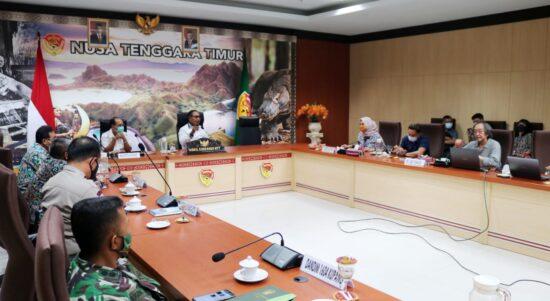 rapat di gubernuran