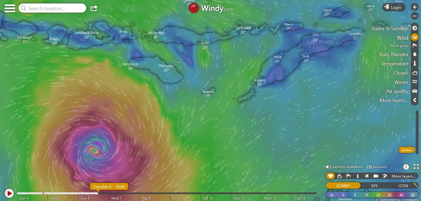 badai di NTT 3