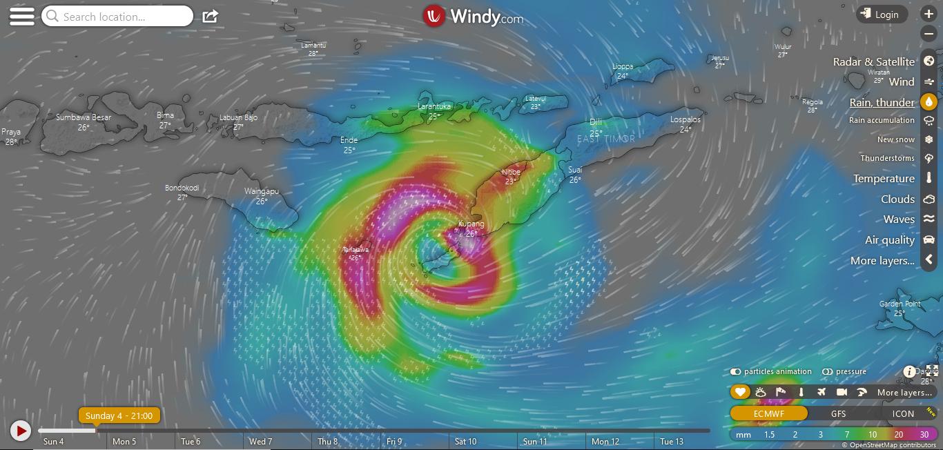 badai di nTT