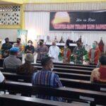 kapolri di gereja