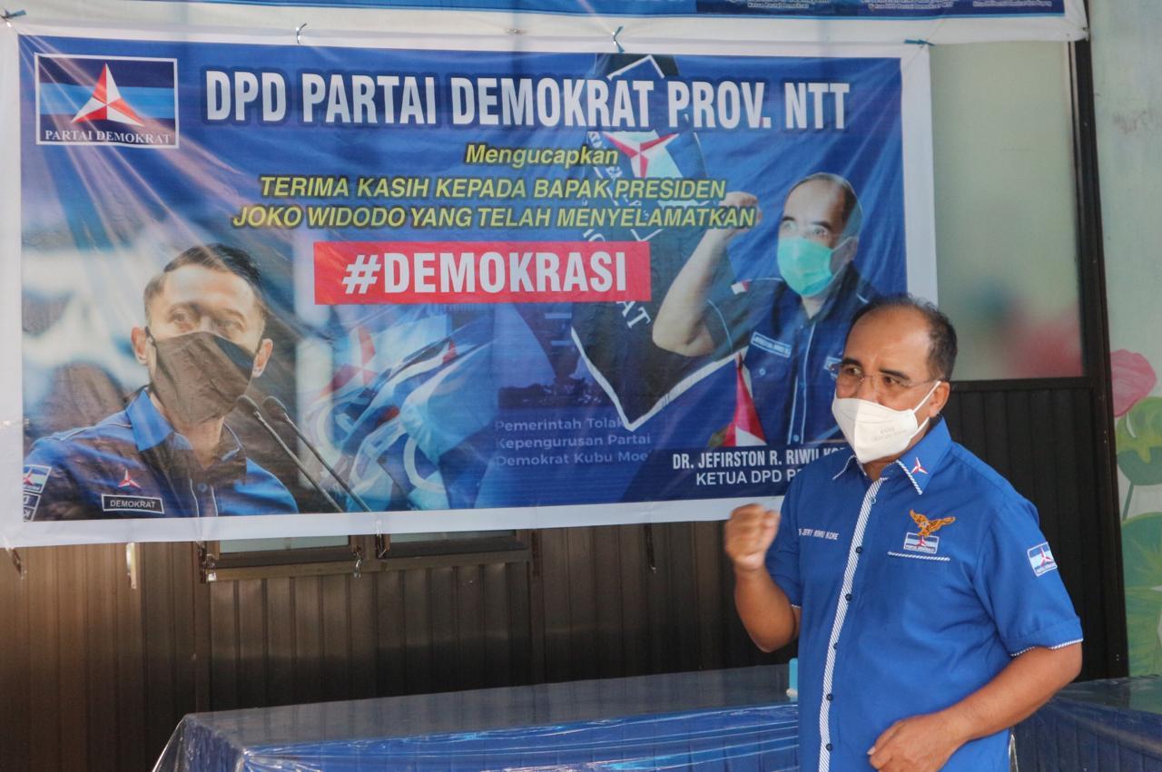 ketua DPD Demokrat NTT