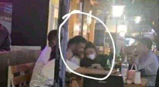 beredar foto diduga waka dprd sulut sedang bersama selingkuhan di sebuah restoran dok istimewa 43