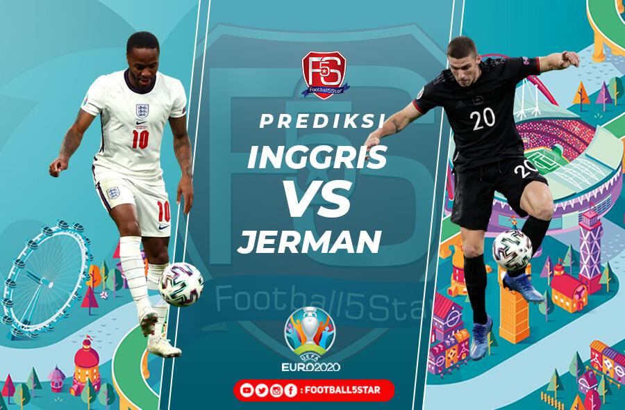 Prediksi Inggris vs Jerman