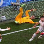 cesar azpilicueta di euro spanyol vs kroasia