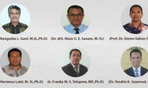 6 kandidat rektor
