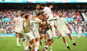 Timnas Spanyol. UEFA