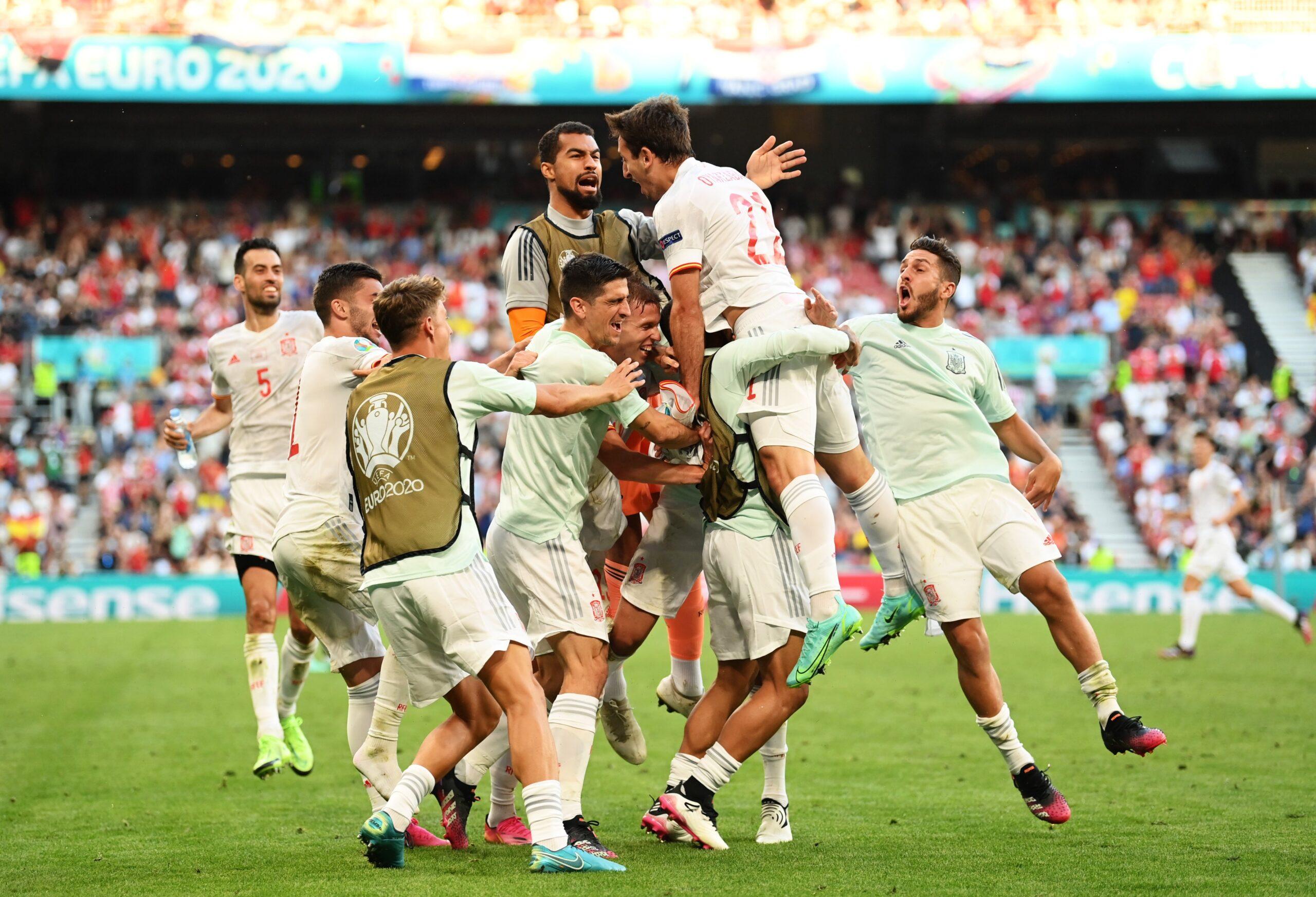 Timnas Spanyol. UEFA scaled