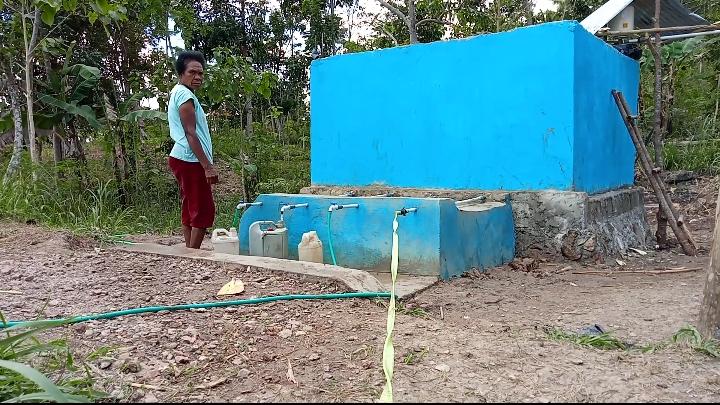 air bersih di TTS