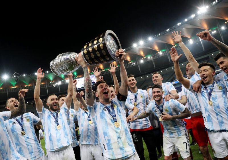 argentina juara dan lionel messi berjaya ini data dan fakta final copa america 2021