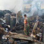 gudang alat bekas dan arsip rsud sumba timur terbakar