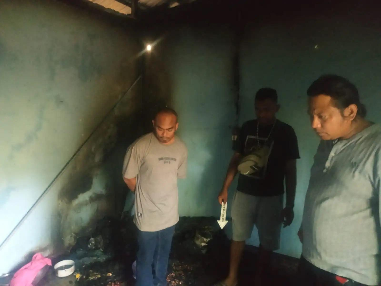 kasus kebakaran sabu