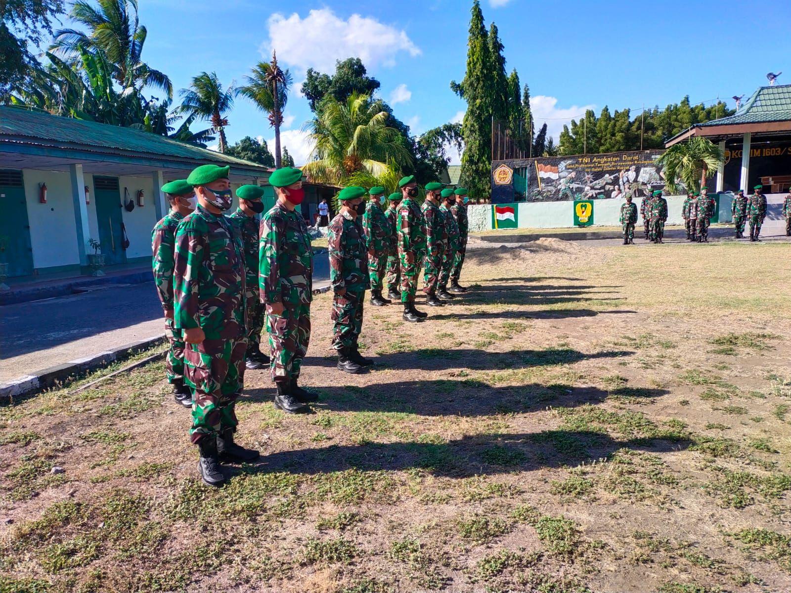 prajurit naik pangkat